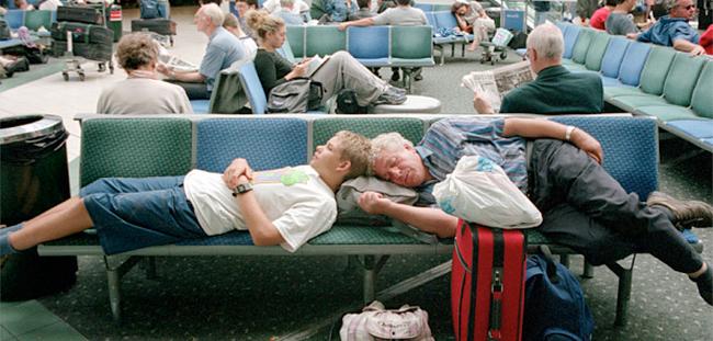 WaitingAirPassengers